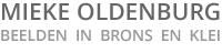 Mieke Oldenburg beelden in brons en klei